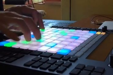 Ableton Push In Studio