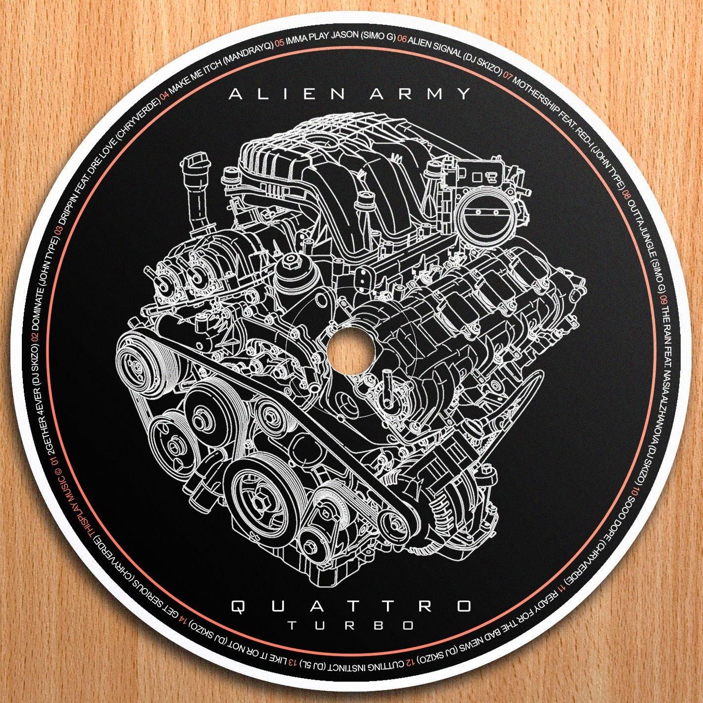Alien Army - Quattro CD Preview