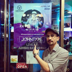 John Type's poster - Philippines Tour 2018