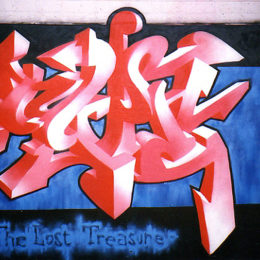 Type 3D Graffiti (Spray on Wall)