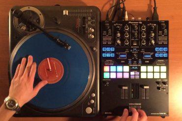 Pioneer DJM-S9 Scratching Test